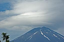 富士山頂 写真