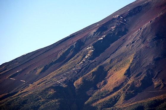 富士山5合目付近