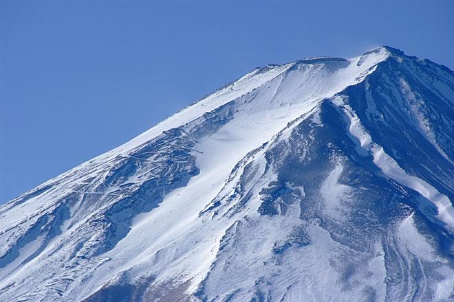 富士山頂写真