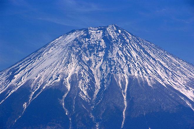 田貫湖から見た富士山頂