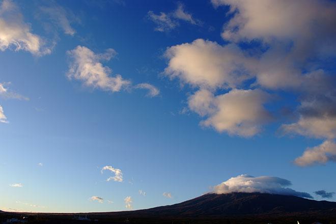 富士山 雪