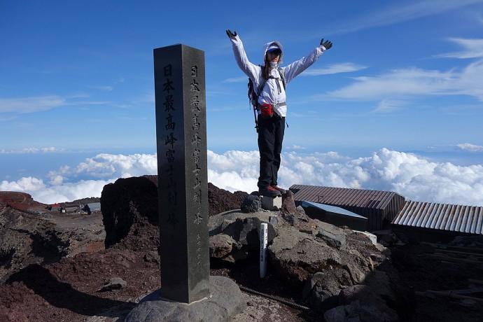 富士山頂 剣が峰