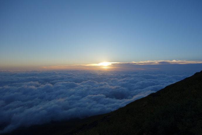 富士山から見る御来光