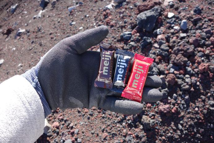 富士山で食べる甘いもの
