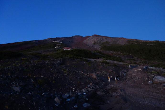 富士山6合目から見た富士山